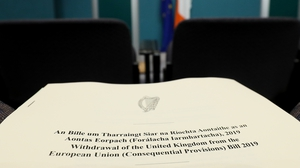 The Omnibus Bill to deal with a disorderly Brexit must pass all stages in the Oireachtas by Friday 15 March