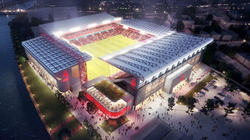 The New City Ground will have a capacity of 38,000. Photo: Nottingham Forest FC