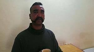 Indian air force pilot was shot down over Kashmir