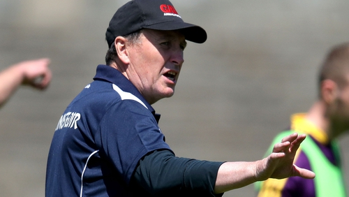 Wexford football manager Paul McLoughlin