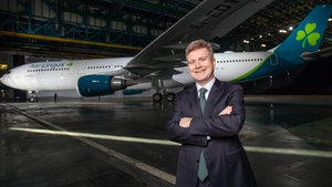 Sean Doyle, Aer Lingus CEO, said the airline has almost doubled its North American transatlantic capacity from Dublin over the past five years