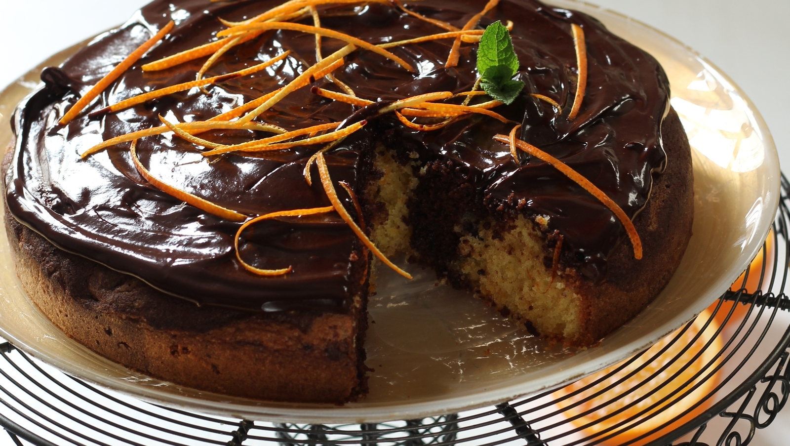 Shane Smiths Chocolate Orange Marble Cake Today