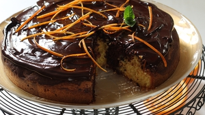 Shane Smith's Chocolate Orange Marble Cake