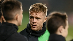 Damien Duff has been elevated to the first-team coaching staff at Celtic