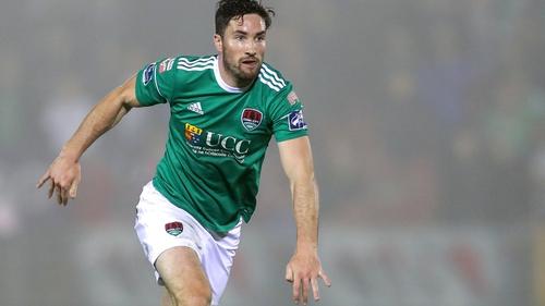 Gearoid Morrissey scored a terrific goal for Cork City against Sligo Rovers on Monday night