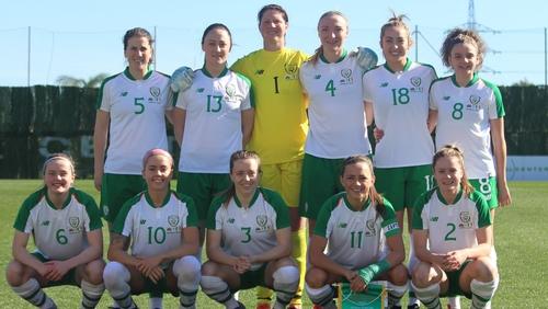 The Republic of Ireland starting XI in Marbella
