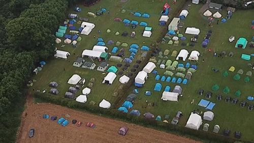 Portlick Scout Campsite near Athlone (Pic: Philip Gillen)