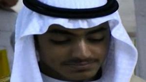 Hamza bin Laden (Pic: CIA)