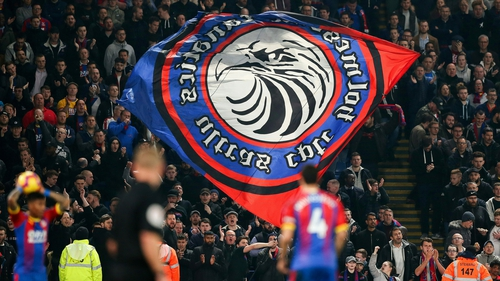 """Crystal Palace said in  a statement: We take a zero tolerance approach to this sort of behaviour."""""""