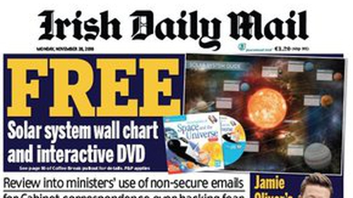 DMG Media represents the Irish Daily Mail, the Mail on Sunday, Extra.ie and Evoke.ie