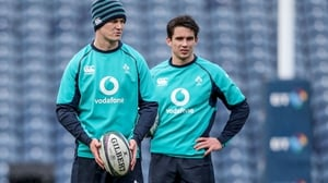 Jonathan Sexton and Joey Carbery