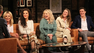 The cast of Derry Girls played a prank on journalists and said Bill Clinton would make a cameo in the second series