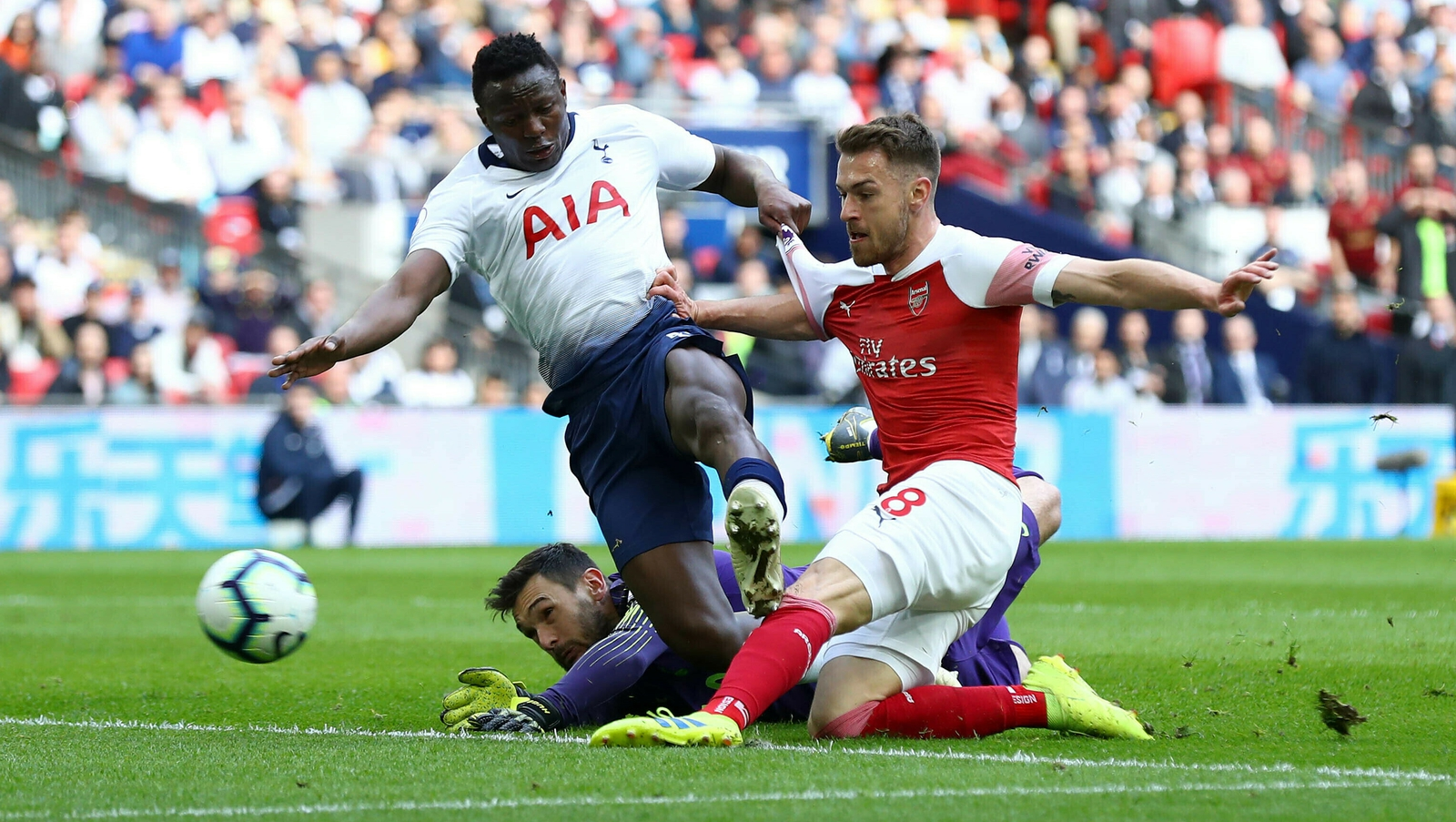 Image result for tot 1-1 arsenal