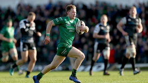 Kieran Marmian got over the try-line for Connacht