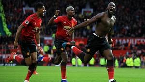 Romelu Lukaku has scored four goals in two matches