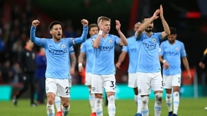 It finished 1-0 to Man City