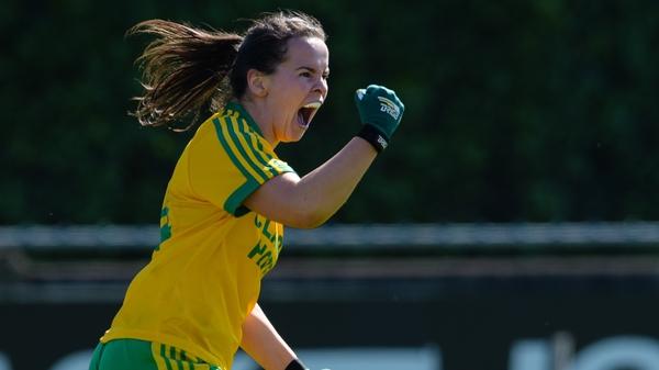 Geraldine McLaughlin scored a goal for Donegal