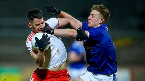 Tyrone scored a nine-point win over Cavan at Healy Park