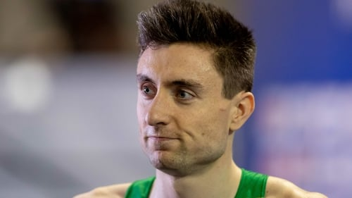 Mark English will line up in Sunday's final