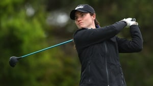 Leona Maguire has tied for 14th in her second European Tour event in Canberra