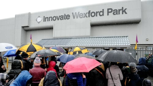 Wexford-Kilkenny meeting in Division 1A has fallen victim to the weather