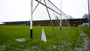 A sodden Walsh Park in Waterford was one of the venues that was rained off