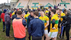Leitrim players savour their promotion (Pic: @LeitrimGAA)
