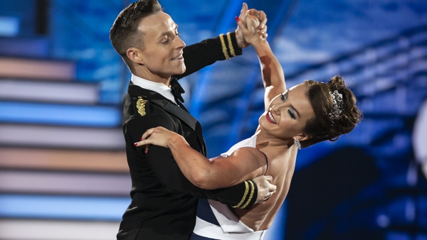John Nolan was partnered with Mairead Ronan when they lifted the DWTS trophy