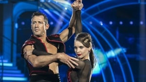 Eliminated Dancing with the Stars contestant Denis Bastick and his partner Valeria Milova