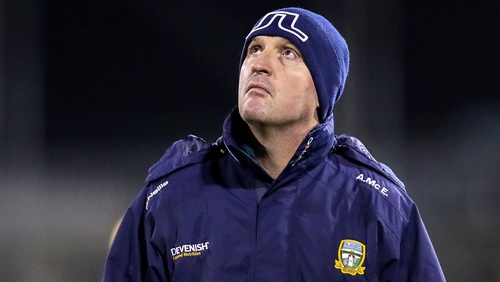 McEntee has overseen the Meath footballers for two years