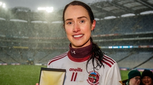 Tina Hannon was named player of the match for the second camogie club final running