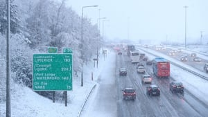 Motorists have been warned they may experience poor visibility on the roads