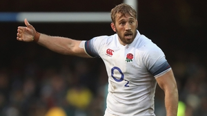 Chris Robshaw missed the autumn series due to a knee injury