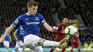 Seamus Coleman is in line to start against Chelsea