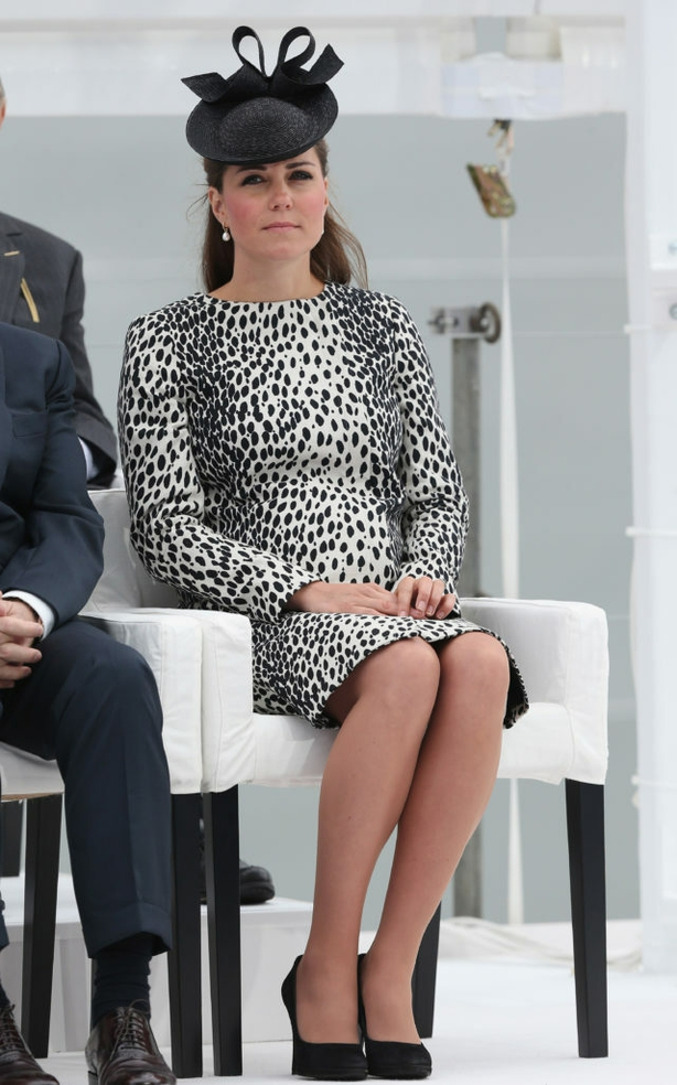 Kate in Southampton in June 2013 (Chris Jackson/PA)