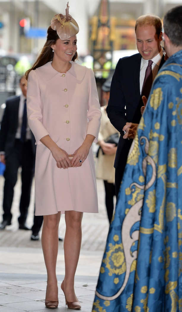 Kate visits Westminster Abbey in March 2015 (John Stillwell/PA)