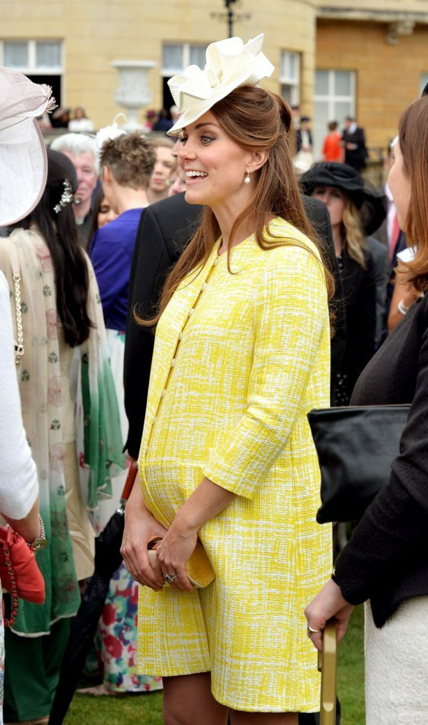 Kate at Buckingham Palace in May 2013 (John Stillwell/PA)