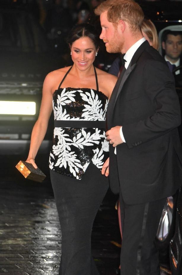 Meghan at the Royal Variety Performance in November (John Stillwell/PA)