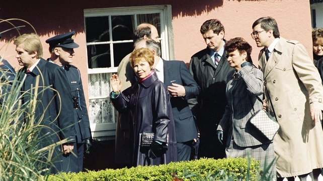 Raisa Gorbachev at Bunratty Folk Park