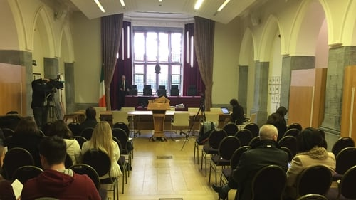 Members of the Supreme Court are hearing a case in Galway at NUIG
