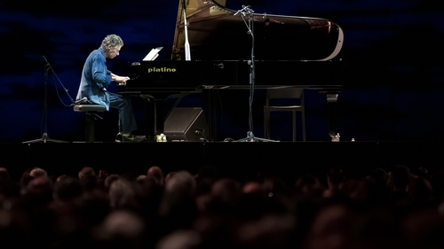 Chick Corea performing in Turin, November 2018.