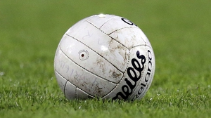The conditions yesterday caused problems in many GAA fixtures
