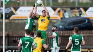 Action from Fermanagh's recent league game with Donegal