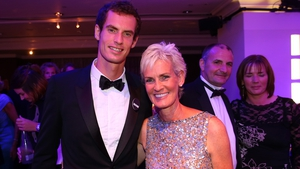 Andy Murray, pictured with his mother Judy, underwent hip surfacing surgery at the end of January