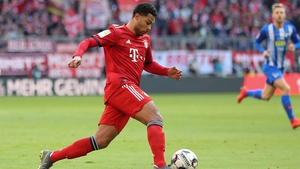 Serge Gnabry will be staying at Bayern Munich until 2023
