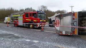 The crash happened at Ballymaquirke Cross near Kanturk