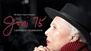 The Music Center Presents Joni 75: A Birthday Celebration will be screened in Dublin, Cork and Galway on March 21