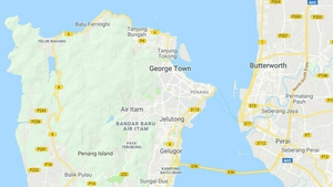 Mr O'Reilly had been working with a marketing company on Penang (pic: Google Maps)