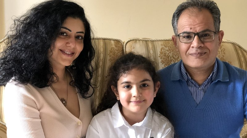 The Al Fakir family arrived in Ireland from Lebanon in December