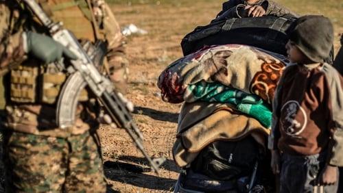 Human Rights Watch says around 1,500 children were detained in Iraq